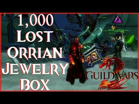 Guild Wars 2 - Opening 1000 - Lost Orrian Jewelry Boxes