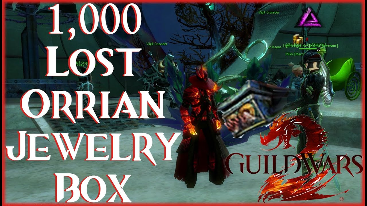 lost orrian jewelry box guild wars 2 opening 1000 lost orrian jewelry boxes 8486