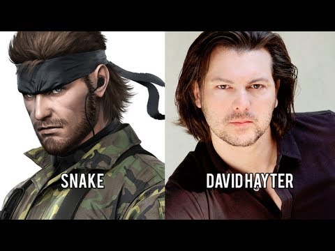 Characters and Voice Actors  Metal Gear Solid 3: Snake Eater