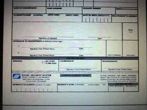 Sss Retirement Form Ddr2 Flexi Fund Early Withdrawal Claim