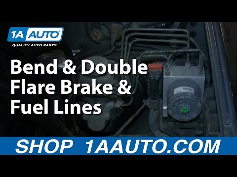 How To Make Bend and Double Flare Brake and Fuel Lines