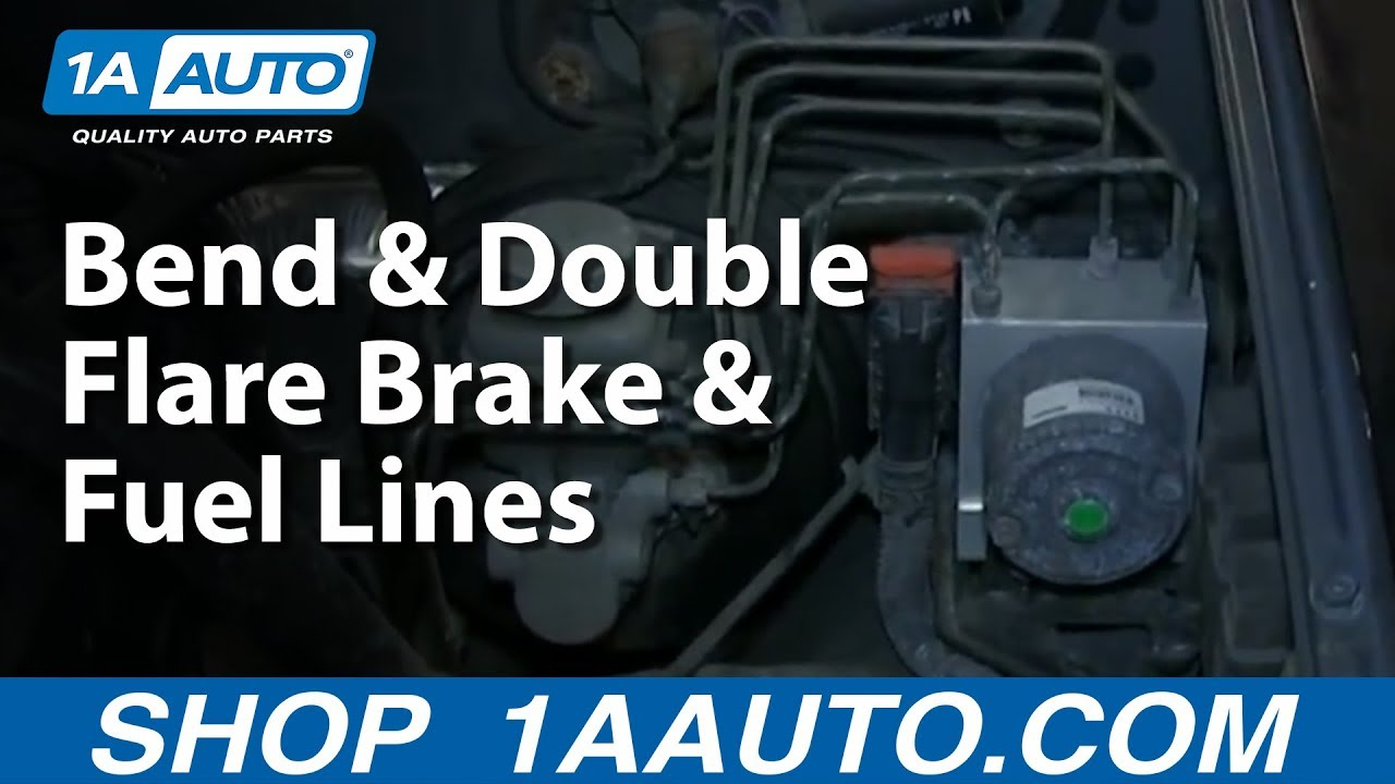 How To Flare A Brake Line >> How To Bend & Double Flare Brake & Fuel Lines - YouTube