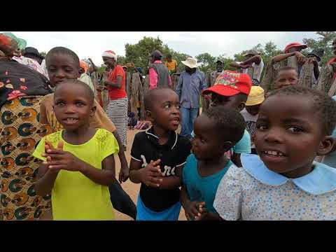 A successful well brings joy to Bonke Village