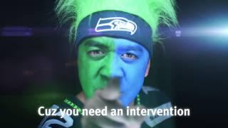 Seahawks/Eagles fans in epic rap battle (Rivals#5-NorbCam vs. Philadehlia)