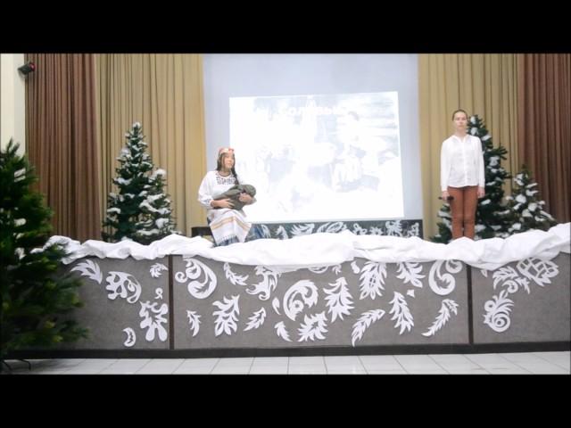 Изображение предпросмотра прочтения – «9 класс ООШ при Посольстве России в Индонезии» читает произведение «Соловьи» Н.А.Некрасова