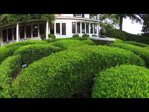 The Fearrington House Knot Garden