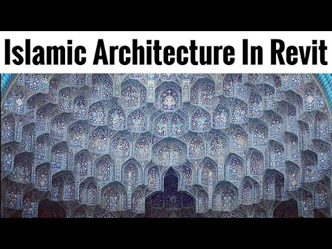 Islamic Pattern In Revit | Modeling Muqarnas in Revit