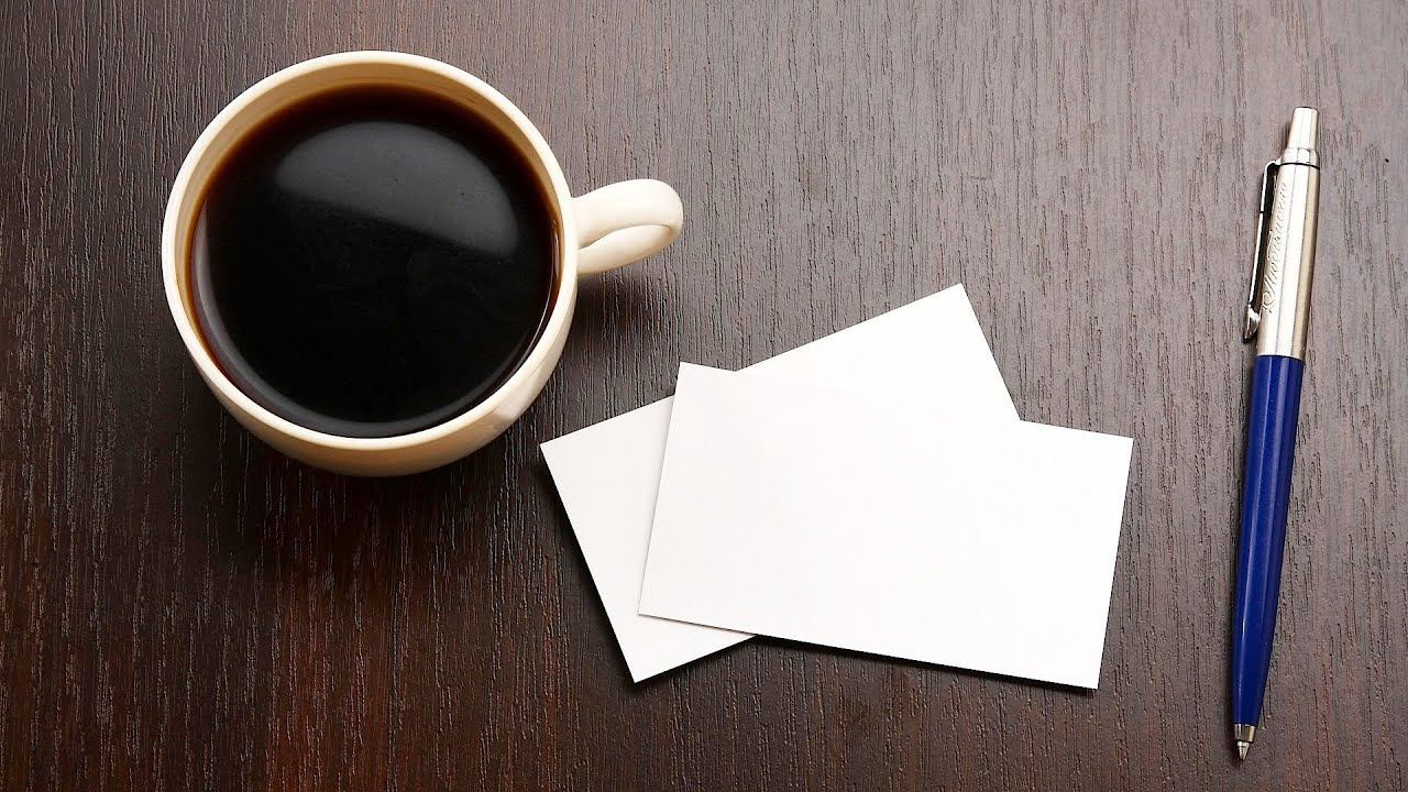 how to make your own business cards