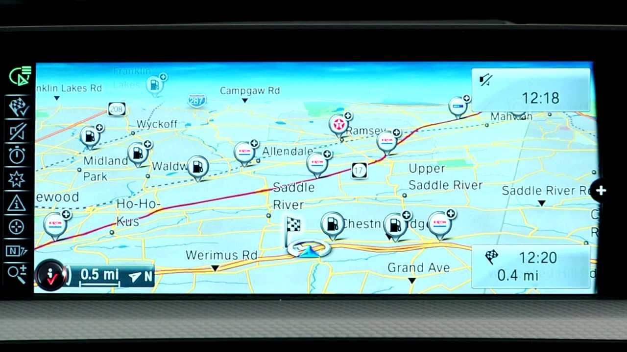 navigation overview bmw genius how to youtube