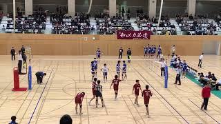 20181129 全日本インカレ 3回戦 福岡大学vs東海大学 4セット目