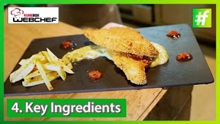 #fame food - Fish and Chips by Madhushree Rao | Round 2 WebChef Finale