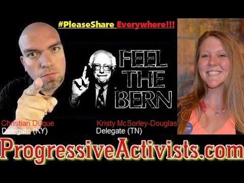 Kristy McSorley-Douglas - TN Bernie Sanders Delegate (Podcast)