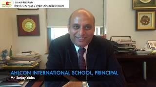 GREAT FEEDBACK FROM PRINCIPAL AT AHLCON INT