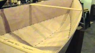 Tango Skiff XL Stitch and Glue Okoume Wooden Boat