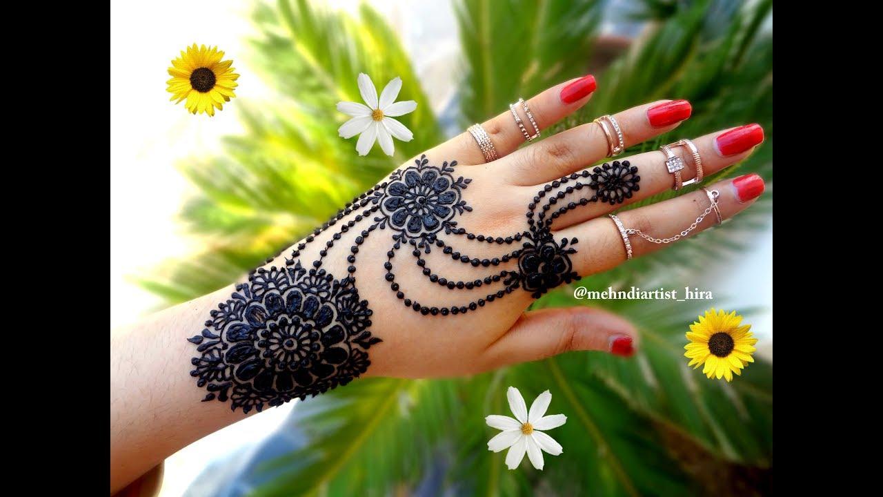 Khaleeji Henna Designs Tattoo: How To Apply Beautiful Latest Arabic Khaleeji Jewellery