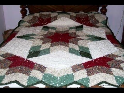 Crochet Bedspread Free Crochet Patterns145 Youtube
