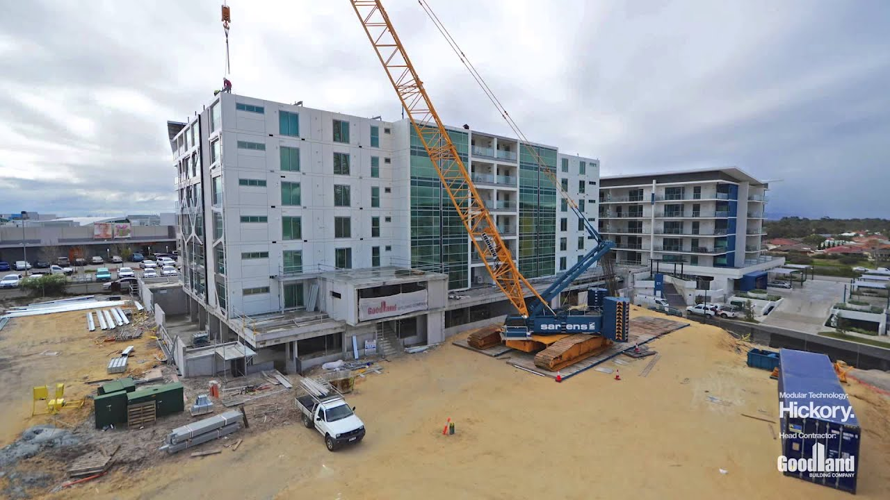 10 Days, 6 Levels, 77 Homes U2013 New Building Uses Unique Prefabricated  Construction System   YouTube