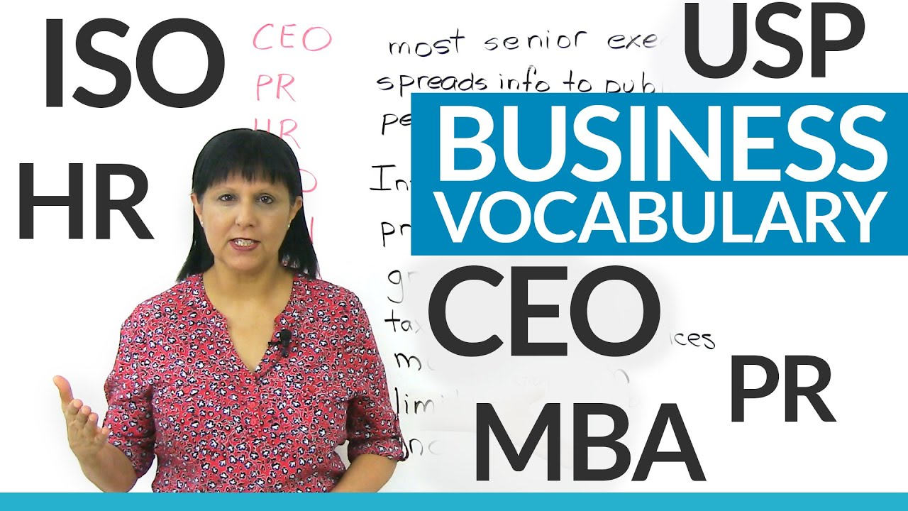 Do you know these business abbreviations? CEO, Inc , Ltd