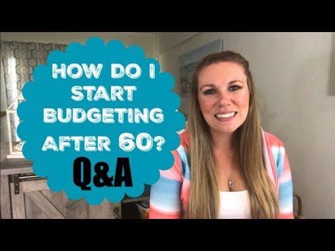 Dumping Debt Fridays | Financial Q&A | How Do I Start Budgeting After 60?