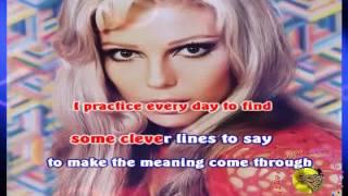 Frank Sinatra - Something Stupid (voce Nancy) (karaoke - fair use)