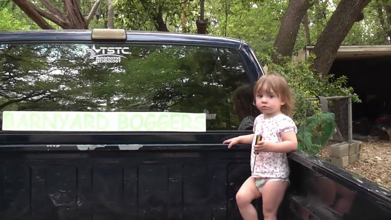 How To Apply A Large Sticker To The Rear Window Of A Vehicle YouTube - Chevy truck stickers for back window