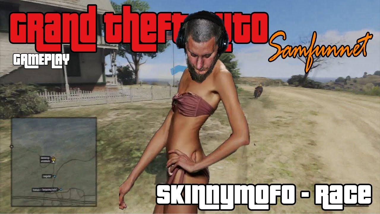 GTA Samfunnet Gameplay : SkinnyMofo