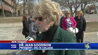 Sen. Horn takes part in Delta College groundbreaking