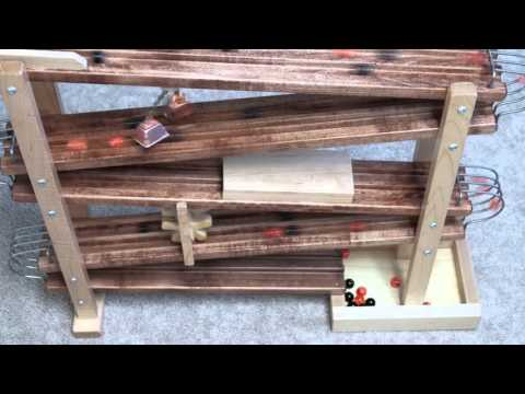 Our Amish-Made Wooden Marble Toy in Action