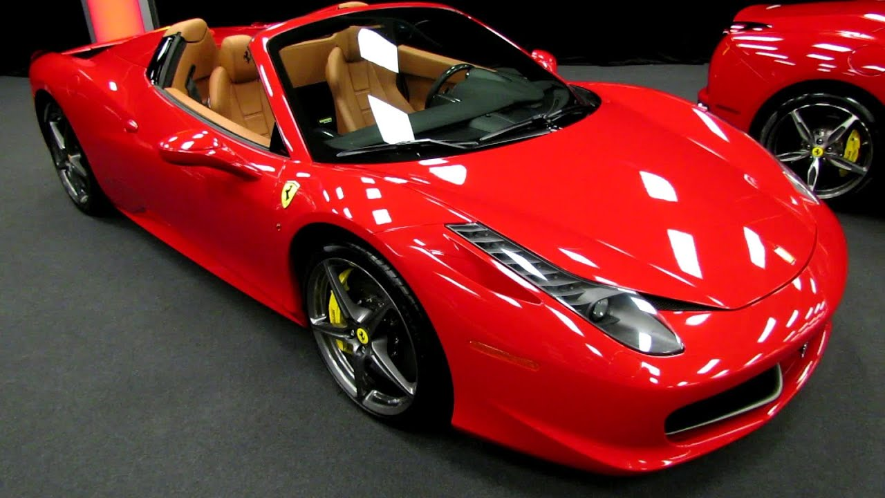 Red Ferrari 458 Italia Spider 2 - 1 | MadWhips
