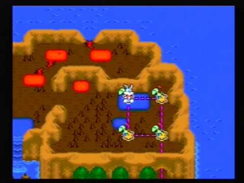 Tiny Toon Adventures Buster's Hidden Treasure (Mega Drive Genesis) - All Passwords Of The Game