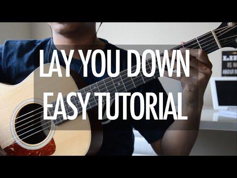 """Lay You Down Easy"" - Magic! - guitar tutorial"