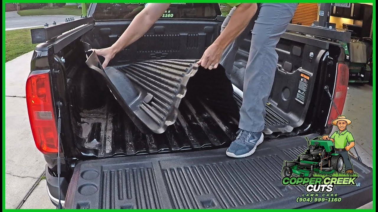 Plastic Bed Liner >> How To Remove A Drop In Truck Bed Liner