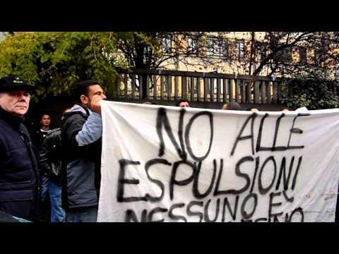 Milano: Presidio Sotto Il Consolato Egiziano!