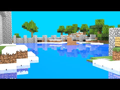 How to do a good Minecraft Background in Blender