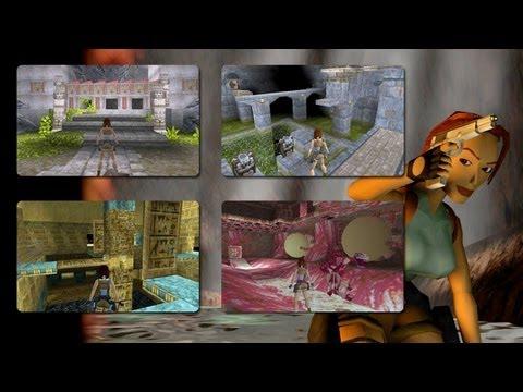 Tomb Raider 1 [1996] Gameplay