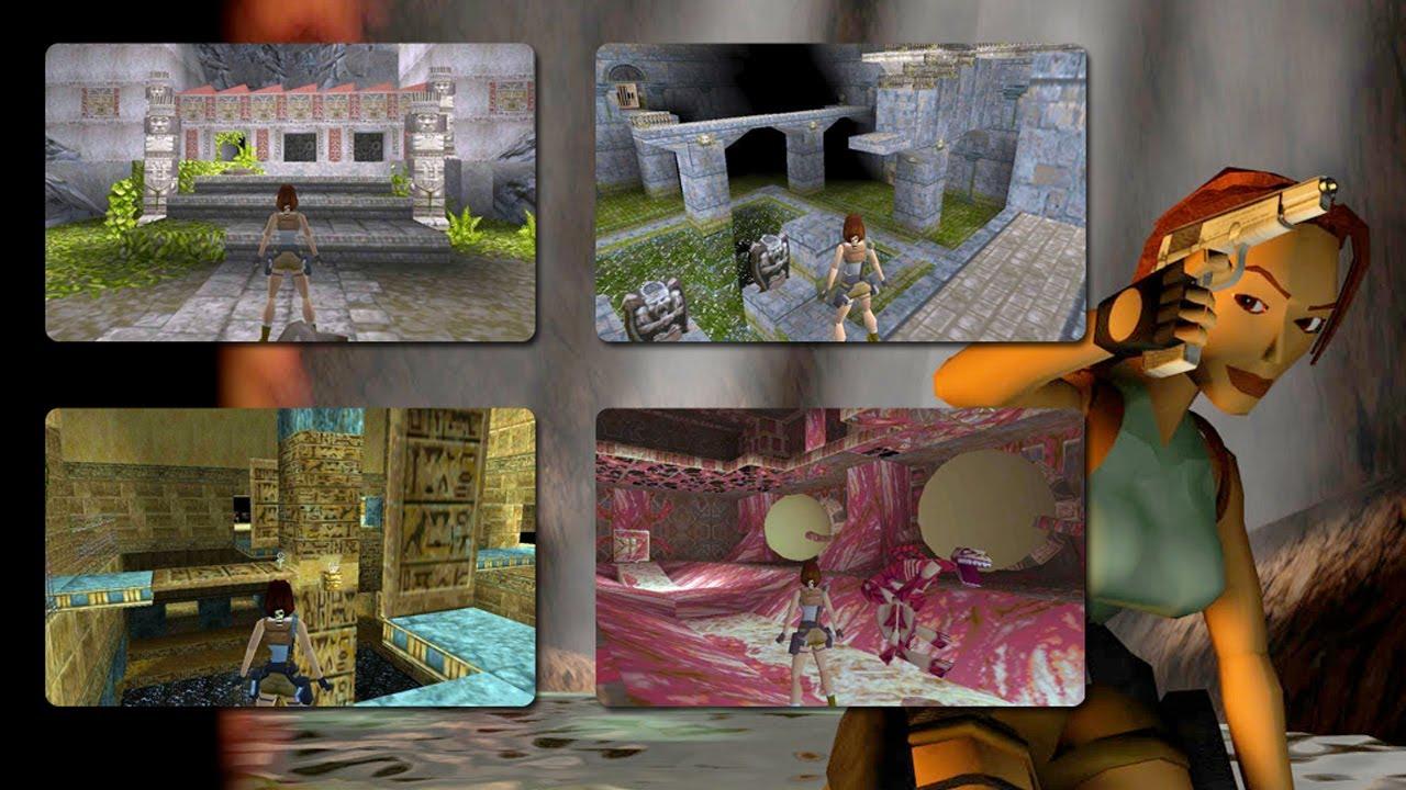 Tomb Raider 1 1996 Gameplay Youtube