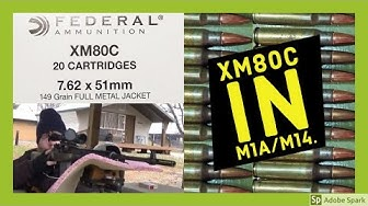 XM80C in M1A/M14. My Thoughts on the ammo.