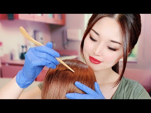 [asmr]-school-nurse-lice-check