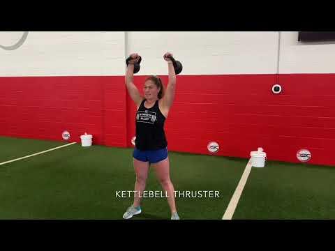 Kettlebell Thruster