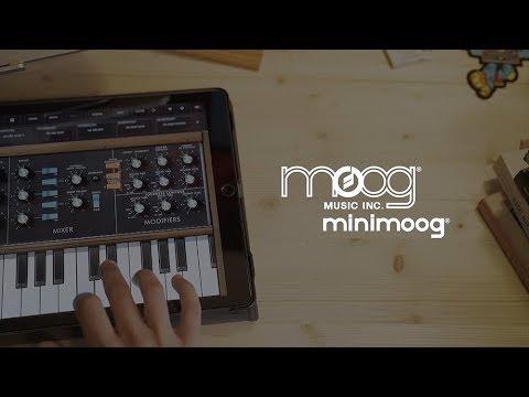 Minimoog Model D App   Moog