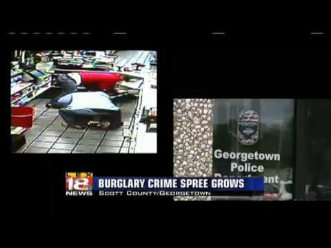 "Another ""Smash-&-Grab"" Burglary Linked To Kentucky Crime Spree"