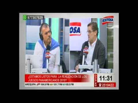 Municipalidad de Villa El Salvador - Carlos Neuhaus en Radio Exitosa