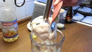 Quick Home-made Tartar Sauce, Rychlá Výroba Tatarské Omáčky