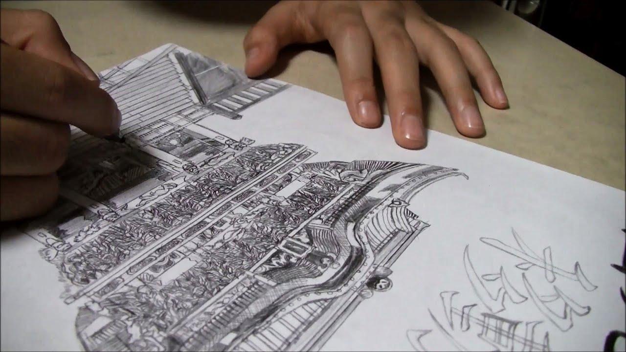 小学生による日光東照宮の写真模写 小6 Youtube