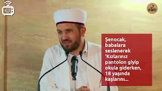 İlahiyatçı İhsan Şenocak'ın 'pantolon' açıklaması kadınların tepkisini çekti