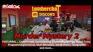 SFG - Roblox - Lets Play Murder Mystery 2 with the Lumber Chat Discord! - Hosted by CodePrime8
