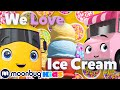 We Love Ice Cream | Go Buster ! | Stories for Kids | Moonbug Kids Stories and Fairy Tales