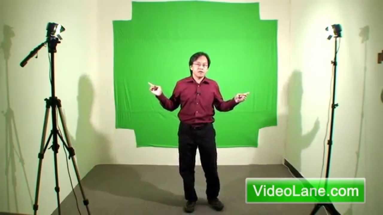 How To Set Up A Mini Green Screen Studio Youtube