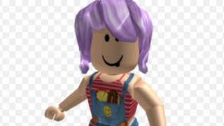 How to put purple hair on ROBLOX