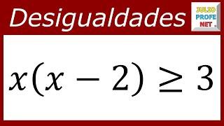 DESIGUALDADES CUADRÁTICAS - Ejercicio 1